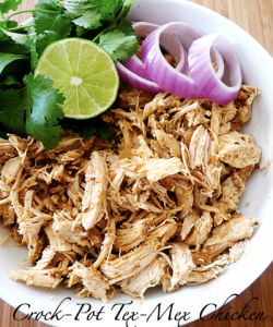 Crock pot tex mex chicken